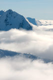 Misty Mountain Royalty Free Stock Images