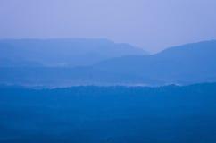 Misty mountain landscape. Stock Images