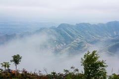 Misty mountain landscape Royalty Free Stock Photography