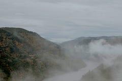 Misty mountain landscape Royalty Free Stock Photos