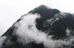 Misty Mountain Peak Royalty Free Stock Image