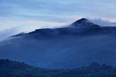 Misty mountain Royalty Free Stock Image