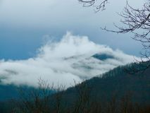 Misty Mountains Royaltyfri Foto