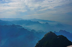Misty Mountains Immagine Stock