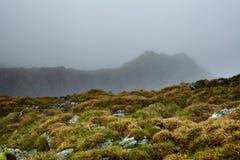 Misty mountains Royalty Free Stock Photos