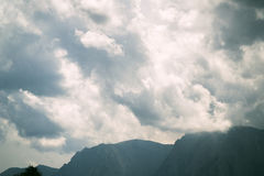 Misty Mountains Stock Image