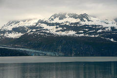 Misty mountains - Glacier Bay, Alaska Royalty Free Stock Photos