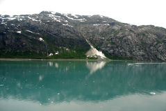 Misty mountains - Glacier Bay, Alaska Royalty Free Stock Photo