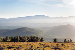 Misty mountains Royalty Free Stock Images