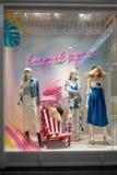Misty Mynx shoppar på modeön, Bangkok, Thailand, Mars 22, 20 royaltyfria bilder
