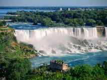 Misty niagra falls, ontario, Canada royalty free stock photography