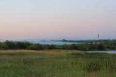 misty pola zdjęcie stock