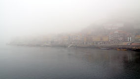 Misty Porto Royalty Free Stock Photo
