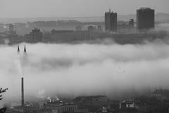 Misty Prague Stock Photos