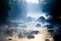 Misty Rapid Stock Image