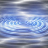 Misty ripple. Misty blue water ripple background Royalty Free Stock Images