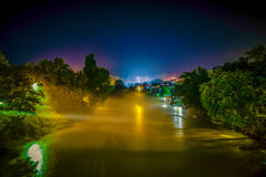 Misty River Imagem de Stock Royalty Free