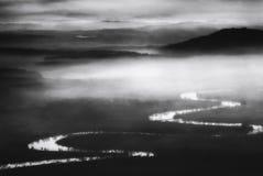 Misty River image libre de droits