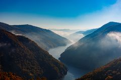 Misty River Fotografia Stock Libera da Diritti