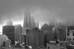 Misty San Francisco Fotografering för Bildbyråer