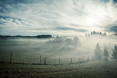 Misty scenery Royalty Free Stock Image