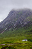 Misty scottish scenery in glencoe Stock Photography