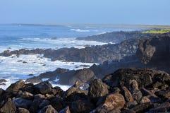 Misty Seascape Galapagos Islands Ecuador photographie stock libre de droits