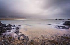 Misty Shores Foto de archivo libre de regalías