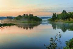 Misty Sunrise Royalty Free Stock Photo