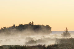 Misty sunrise Royalty Free Stock Photo