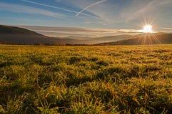 Misty Sunrise Royalty Free Stock Images