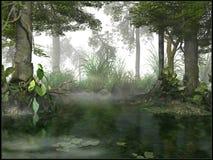 Free Misty Swamp Stock Photos - 43790243