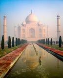 Misty Taj Mahal Stock Photos