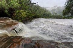 Misty Waterfall Stock Photos