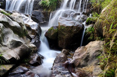 Misty waterfall Royalty Free Stock Photography