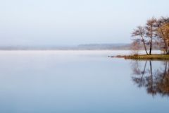 Misty waters Royalty Free Stock Photography