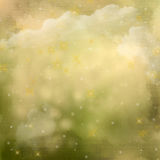 Mistyczki tło zielony abstrakcjonistyczny. Zdjęcie Royalty Free