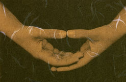 mistyczna medytacji Obrazy Royalty Free