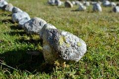 Mistyczni kamienie, okrąg Zdjęcie Royalty Free