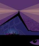 mistyczny krajobrazu Obraz Stock