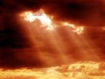 mistyczny niebo Zdjęcia Royalty Free