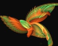 mistyczny ptaka. ilustracja wektor