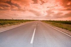 mistyk autostrady Zdjęcia Royalty Free