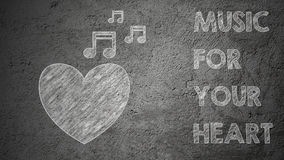 Misuc для вашего сердца Стоковое фото RF