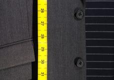 Misura di nastro e del vestito Immagini Stock Libere da Diritti