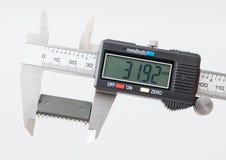 Misura elettronica IC del calibro Fotografia Stock Libera da Diritti