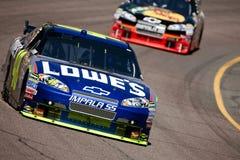 Misura fresca del sottopassaggio della tazza di NASCAR Sprint il 17 aprile 500 Fotografia Stock