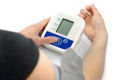 Misurare di pressione Immagini Stock