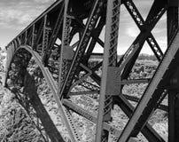 Misurazione del canyon Fotografia Stock