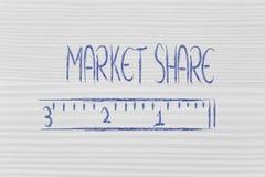 Misuri la vostra quota di mercato immagine stock libera da diritti